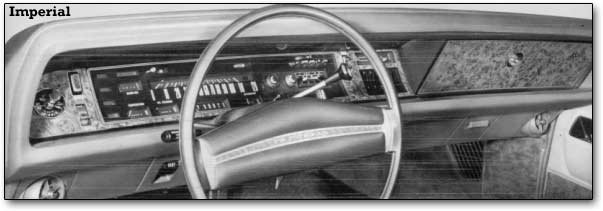 1971 Imperial dashboard