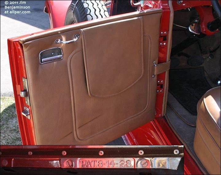 1929 imperial leather doors