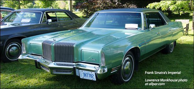 1973 Chrysler New Yorker Brougham 1972 Chrysler New Yorker