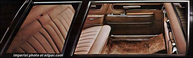 imperial rear seats