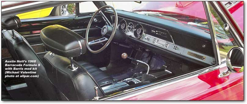inside the Barris Barracuda