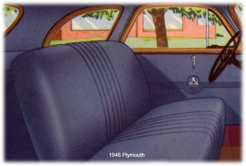 Plymouth interior