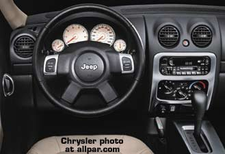 Inside The Jeep Liberty ... Awesome Ideas