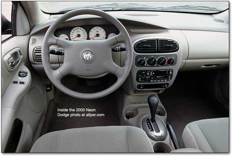 2000 2004 Chrysler Plymouth Dodge Neon