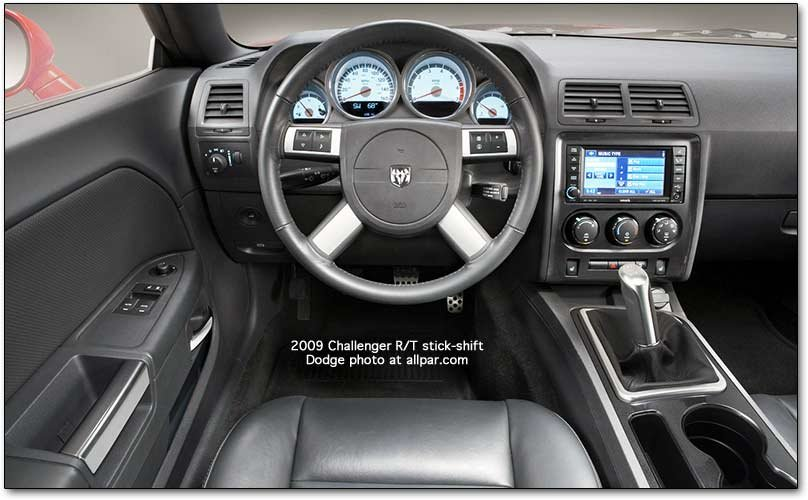 The 2008 2009 Dodge Challenger Cars Interior And Features