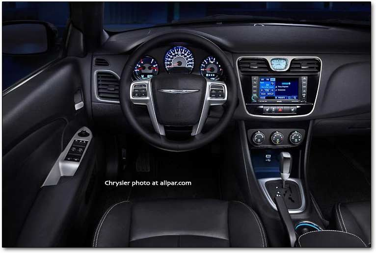 The 2011 2014 chrysler 200 convertible affordable luxury cars with 300 style