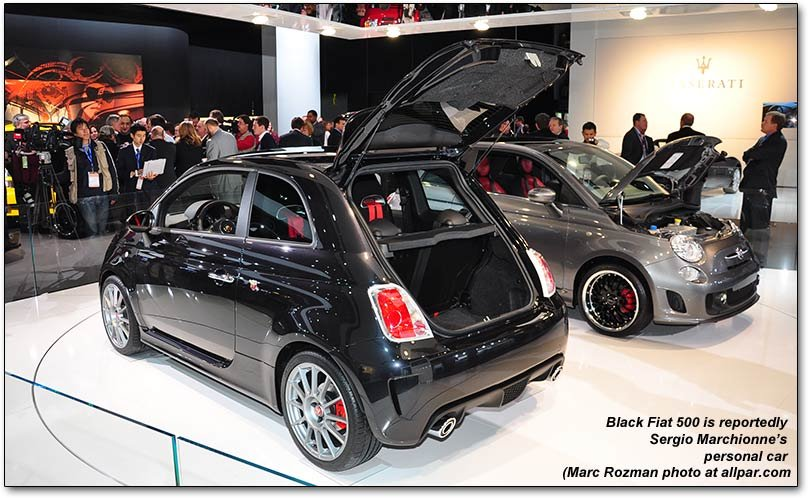 First NA Fiat 500 interior pictures