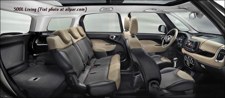 Fiat 500L Powertrain