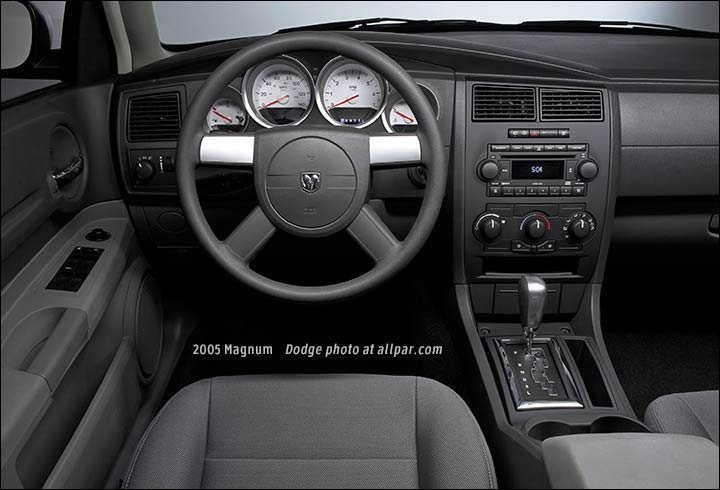 2005 2009 dodge magnum production car - Dodge magnum interior accessories ...