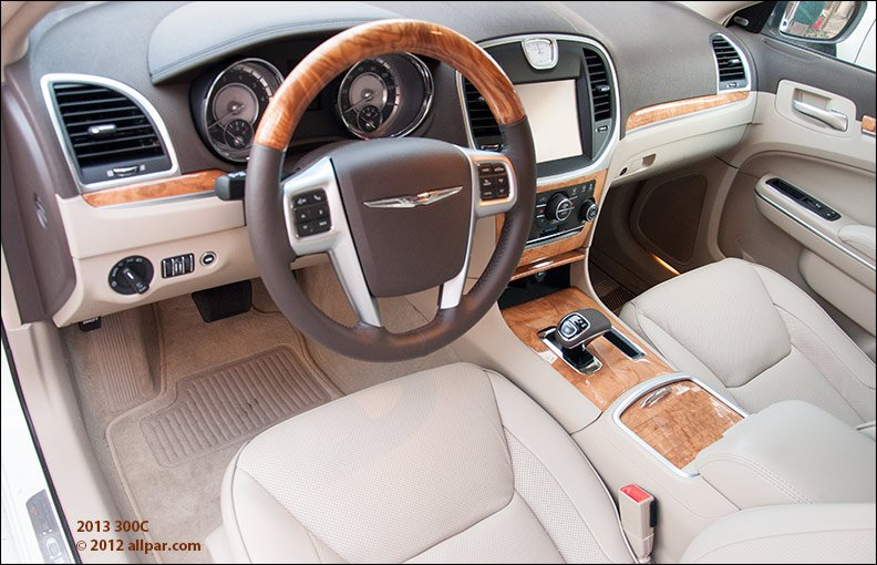 2013 chrysler 300c v6 car review road test - Chrysler 300 interior accessories ...