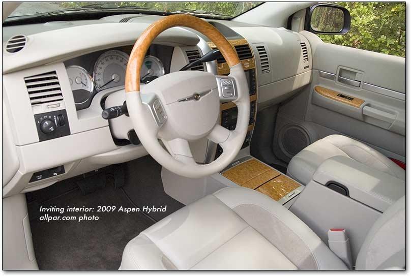 2008 Chrysler Aspen Interior