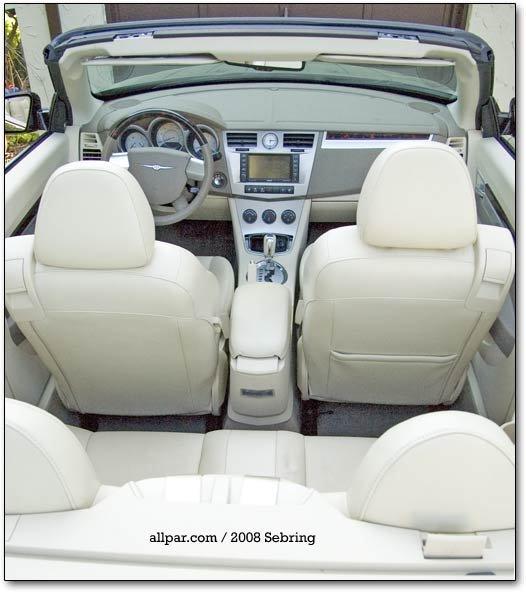 2008 Chrysler Sebring Convertible Car Reviews