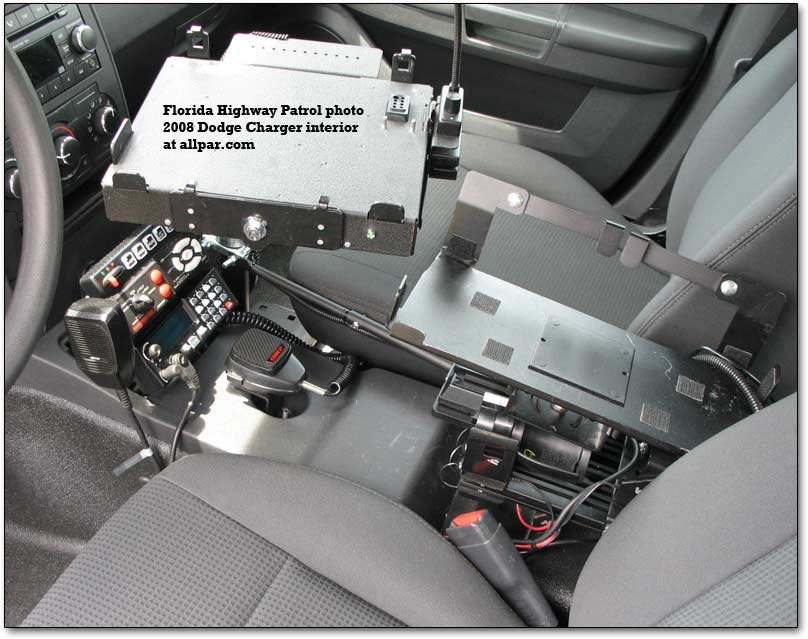 interior - police equipment