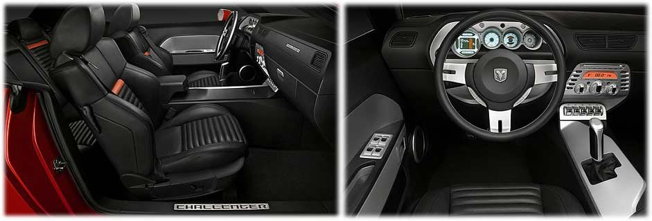 Pics For Dodge Challenger 2010 Black Interior