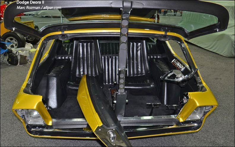 Deora interior entry