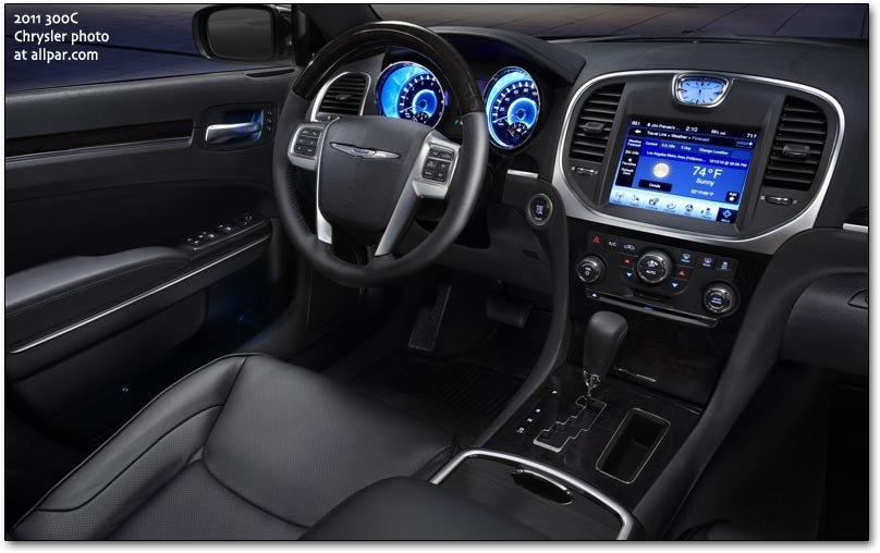 2011 chrysler 300c cars interior electronics and safety - Chrysler 300 interior accessories ...