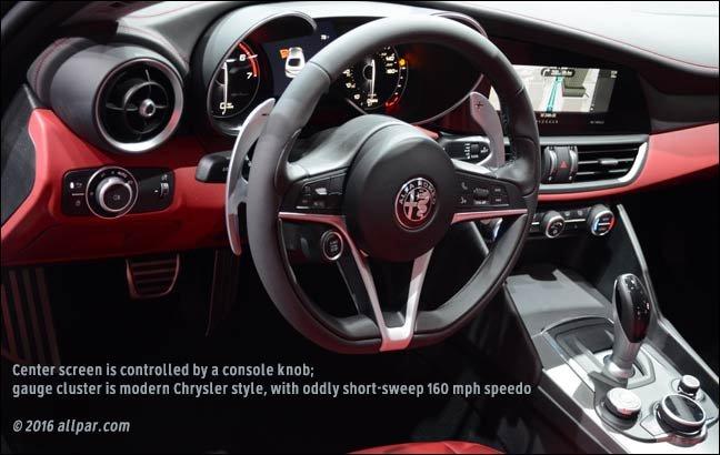 Alfa Romeo Giulia Interior Red Cabinets Matttroy