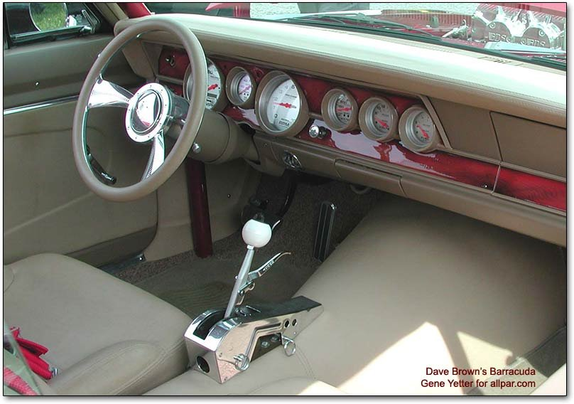 interior - 1967 barracuda