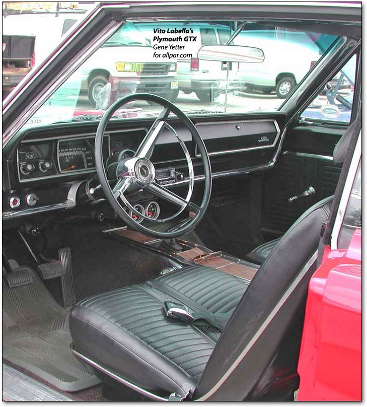 1967 1974 Plymouth Gtx Muscle Cars With All The Trimmings