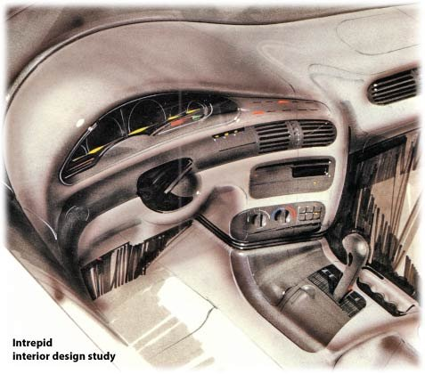 dodge intrepid design study