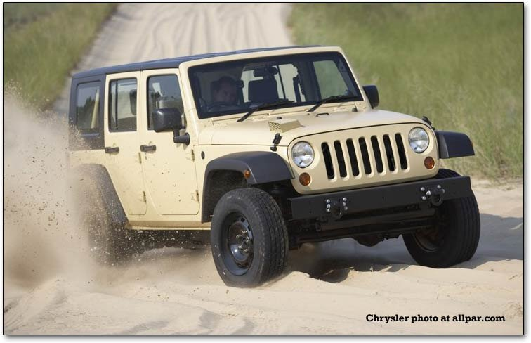 The Jeep J8 Egyptian Military Jeep Wrangler