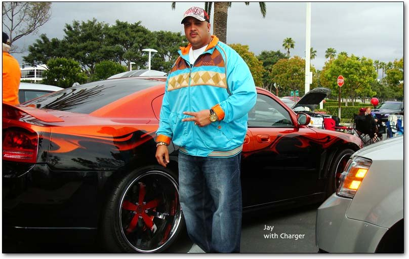 Jay with Charger
