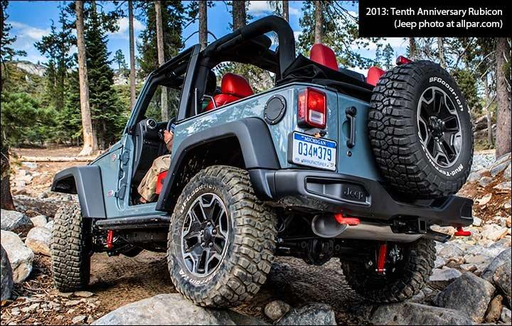75th Anniversary Jeeps