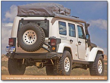 Jeep Wrangler Overland camper