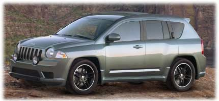 Jeep Compass Rallye concept car