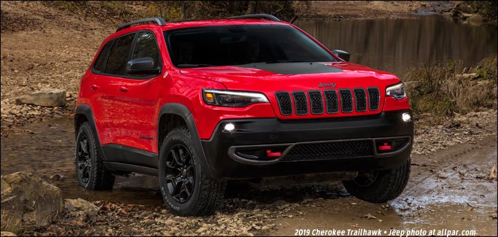 2019 Jeep Cherokee: KL, turbocharged