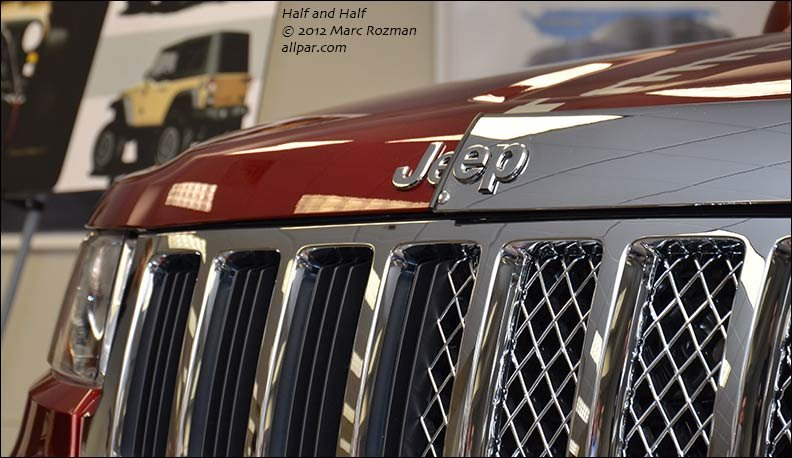 Jeep Grand Cherokee Half Half 2012 Concept Car