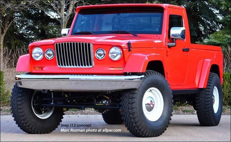 2012 Jeep J12: Retro Wrangler Pickup