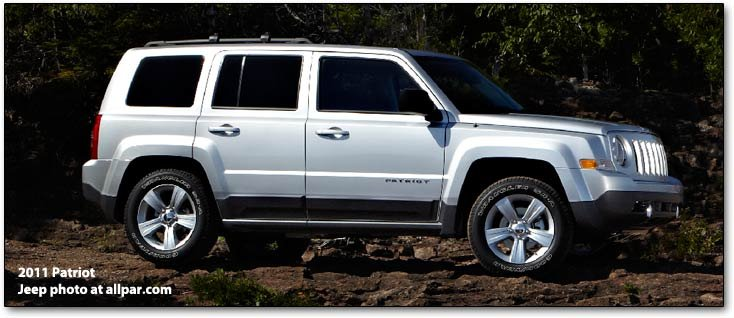 2014 Jeep Patriot Tire Size >> Jeep Patriot The Compact Suvs 2006 2017 Off Road Capability On