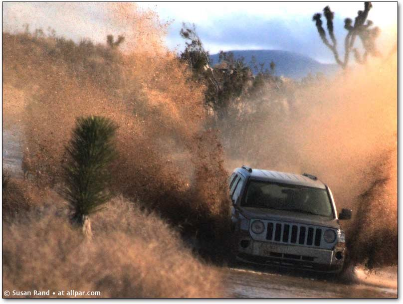 Jeep Patriot offroad