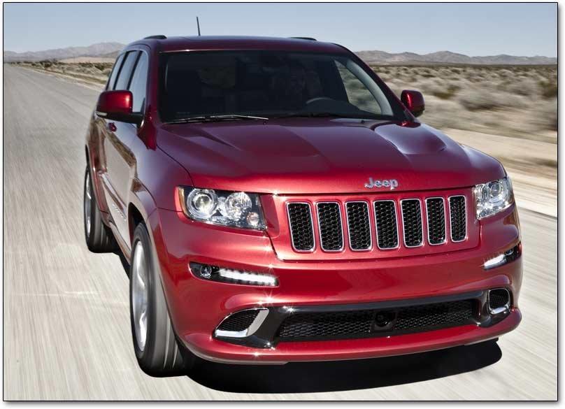 2012-2013 Jeep Grand Cherokee SRT8