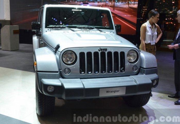 jeep wrnagler black edition ii front