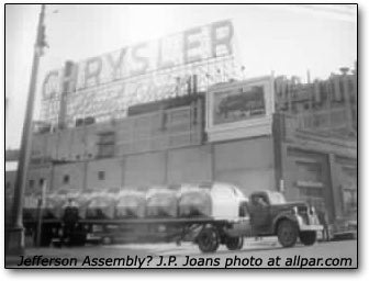 Chrysler Jefferson Assembly Plant