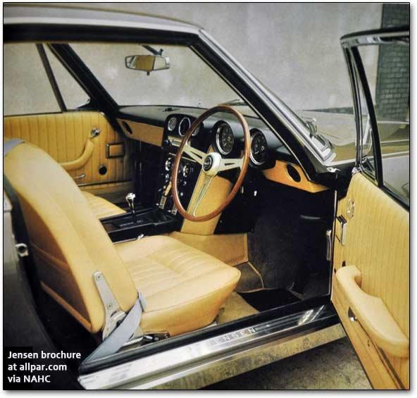 The Jensen FF: Chrysler-Powered Four Wheel Drive British Luxury Cars