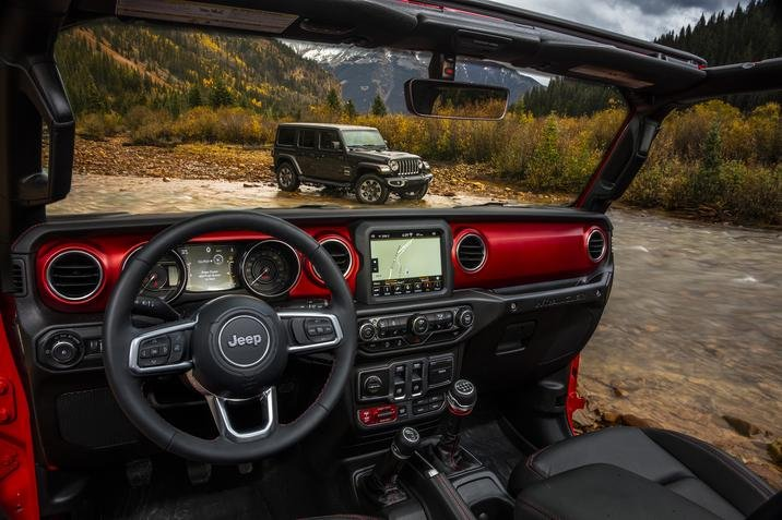 jeep wrangler dash
