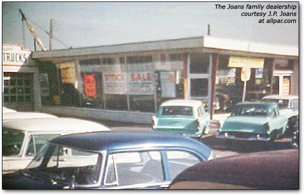 J.P. Joans' dealership