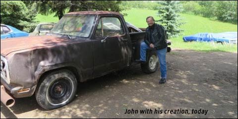 John and truck