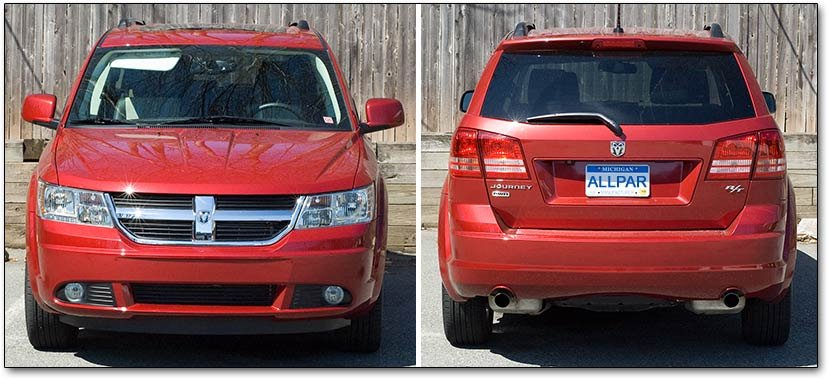 journey AWD - 2010 Dodge Journey R T Fleet Awd