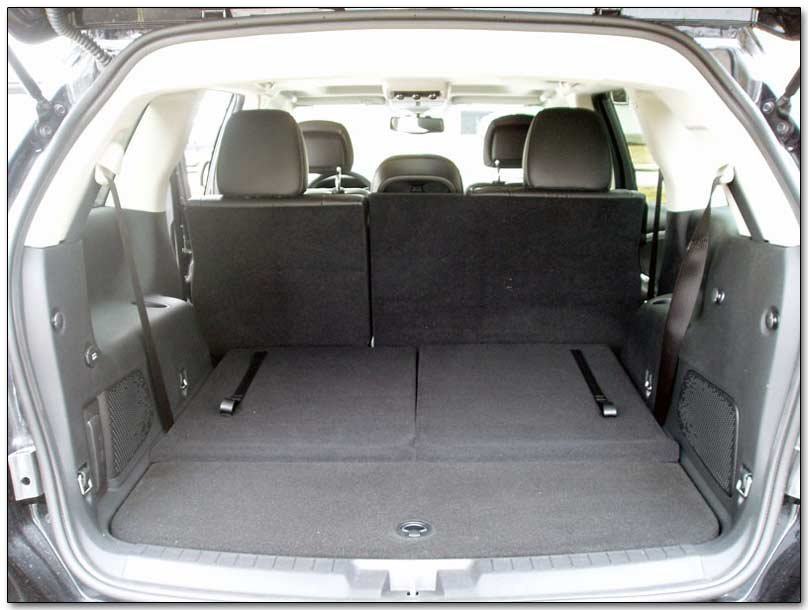 2010 Dodge Journey Interior Dimensions