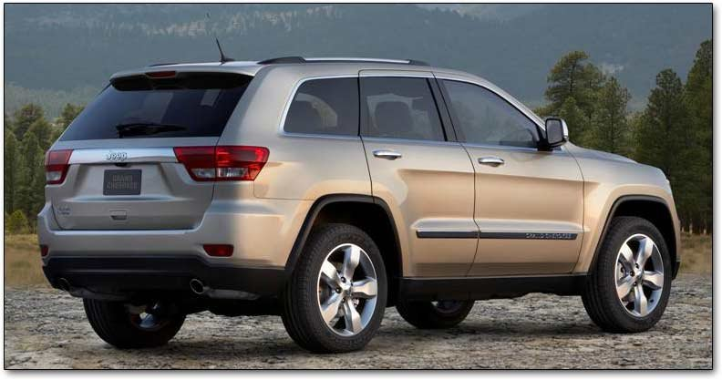 The 2011 2013 Jeep Grand Cherokee Suv Its Here With Hemi And