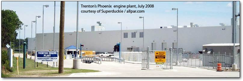 Trenton Engine plant, July 2008