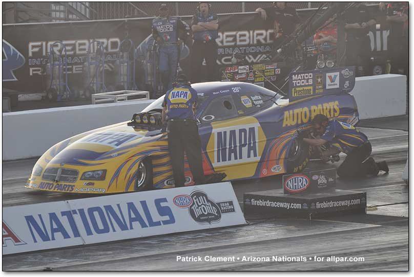 Kendall drag car