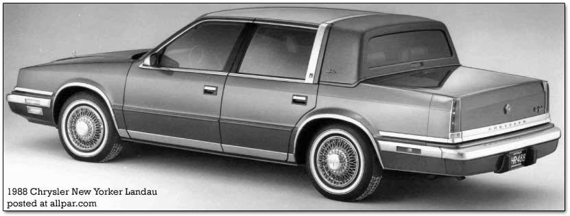 chrysler new yorker landau