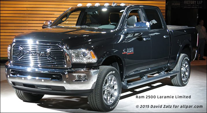 2016 Dodge Trucks >> News Changes For The 2016 Ram Hd Pickups