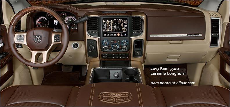 2013 laramie longhorn - 2014 Dodge Ram 2500 Tradesman Interior