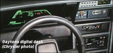 Dodge Daytona A Sporty Turbocharged Front Wheel Drive Car Of The
